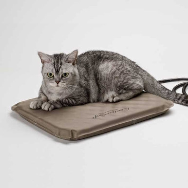 """14"""" x 18"""" Soft Heated Pad -  for our outdoor cat houses!"""