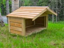 Small Feeding Station with Extended Roof - Matches our outdoor cat houses!