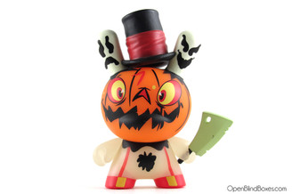 #7 Jack-o-Lantern Dunny Brandt Peters The 13 Kidrobot Front