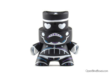Kronk Black Skulltrooper Series 3 Fatcap Kidrobot Front