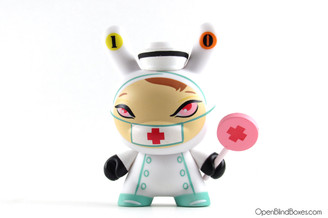 #10 Nurse Cackle Dunny Brandt Peters The 13 Kidrobot Front