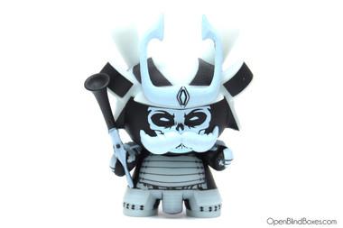 Jon-Paul Kaiser Ashigaru Blue 2012 Dunny Kidrobot Front