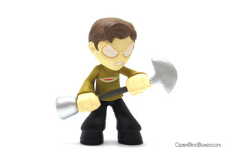 Captain Kirk Funko Sci-Fi Mystery Minis Front
