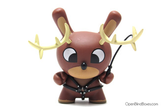 Chuckboy Reindeer Christmas Dunny No Tail Front