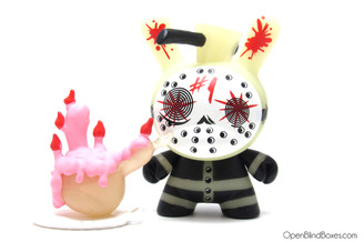#1 The Mad Butcher Dunny GID Brandt Peters The 13 Kidrobot Front