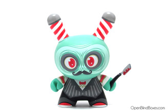 Argh Barber The Odd Ones Dunny Kidrobot Scott Tolleson Front