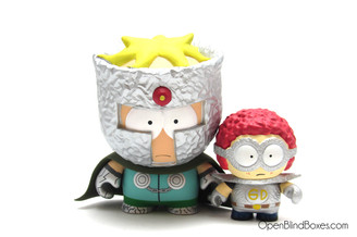 Professor Chaos and General Disarray South Park Kidrobot Front
