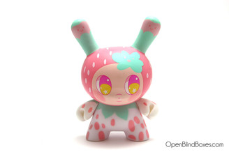 So Youn Lee Strawberry DTA Dunny Kidrobot Front
