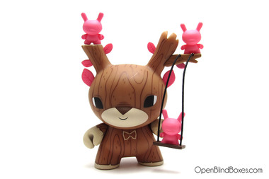 Gary Ham Autumn Stag DTA Dunny Kidrobot Front