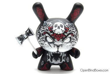 Hydro 74 Red Apocalypse Dunny Kidrobot Front