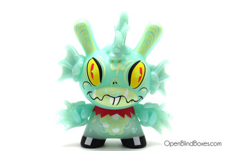 #4 Fish! Dunny Glow Brandt Peters The 13 Kidrobot Front