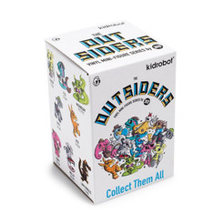 Joe Ledbetter Outsiders x  Kidrobot Blind Box