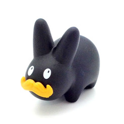 Black Mustache Happy Labbit