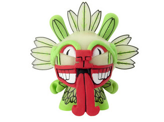 GID Beast Brothers Quetzalcoatl Azteca Glow in the Dark Dunny