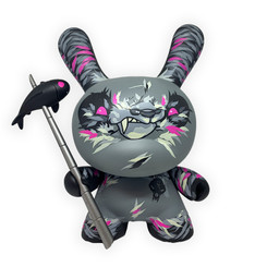 "8"" Angry Woebots Shadow Friend Dunny"