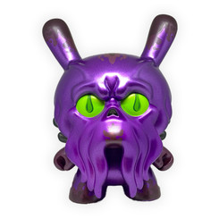 "8"" Purple King Howie Dunny by Scott Tolleson"