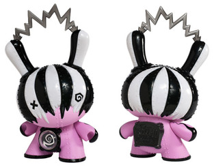 """8"""" Pink Ironclad Decimator Mecha Rupture Edition Dunny by Doktor A"""