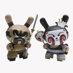 Black Kabuki 2 Pack Gold Life Dunny Set by Huck Gee