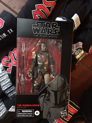 "The Mandalorian Star Wars Black Series 6"" Action Figure"