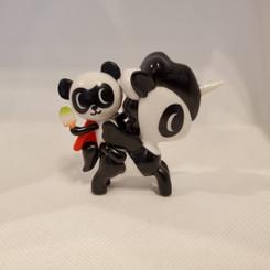 Super Panda with Bambu Unicorno 7
