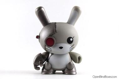 Chuckboy Cyber Bunny 2tone Dunny Kidrobot Front