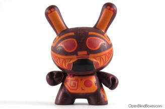 Ed Sison Azteca Dunny Kidrobot Front
