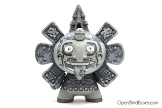 The Beast Brothers Calendario Azteca 2 Dunny Grey Front