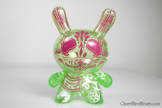 Damarak The Destroyer Green 2010 Dunny Front