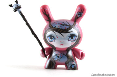 64 Colors Nature Spirits 2011 Dunny Kidrobot Front