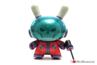 Pac23 Dead Astronaut 2012 Dunny Kidrobot Front