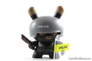 Huck Gee Officer Steve Evolved Dunny Front