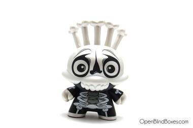 Scribe Skeleton Costume Mardivale Dunny Kidrobot Front
