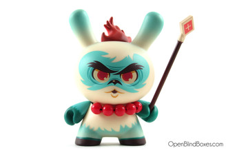 Scott Tolleson Argyle Warrior Side Show Dunny Front