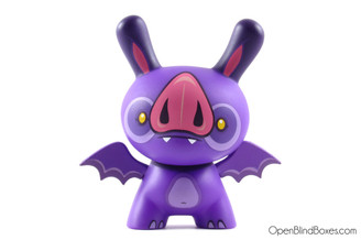 Okkle Bodkin The Bat Side Show Dunny Front