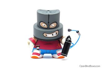 Tizieu Series 2 Fatcap Kidrobot Front