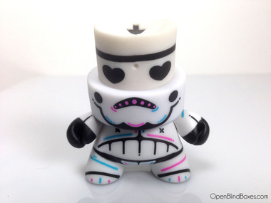 Kronk White Skulltrooper Series 3 Fatcap Front