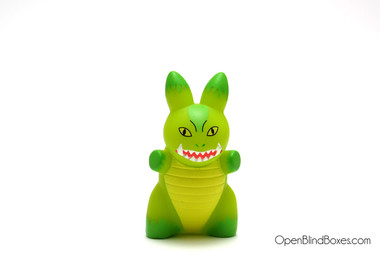 Green Kaiju Lore Of The Labbit Frank Kozik Front