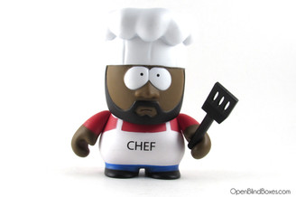 Chef South Park Kidrobot Front