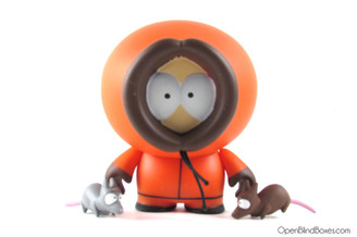 Kenny South Park Kidrobot Front