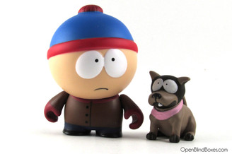 Stan South Park Kidrobot Front
