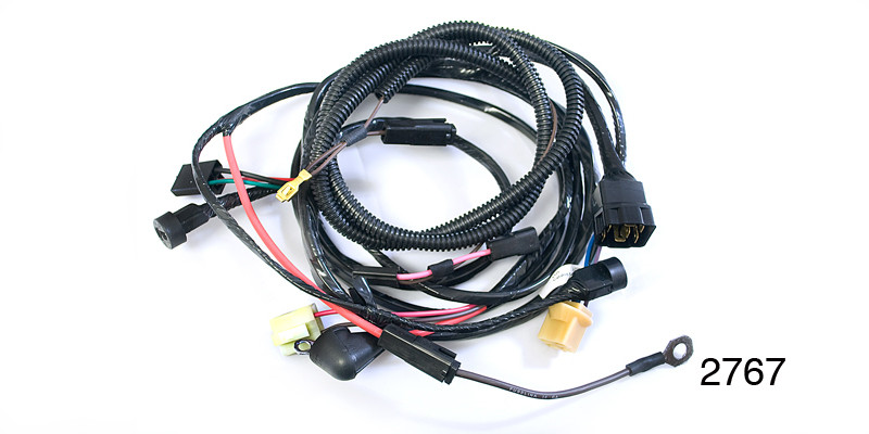 Factory Fit 1955 Chevy Under Dash Wiring Harness, Includes  Headlight/Generator, - Southern Classic Chevy LLCSouthern Classic Chevy LLC