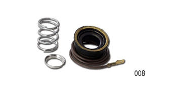 This kit will provide you with a quick and inexpensive way to eliminate that annoying up-and-down play in your steering wheel.  We have improved this part by adding more bearing surface, giving it longer life.  Danchuk # 008 installs in the top of the column and will work on any 1955-1957 classic Chevy with an original steering column.  Will also fit 1963 Corvette.