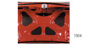 1955-1957 Chevy Trunk Lid Insulation Kit
