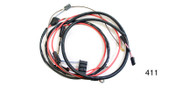 We are proud to offer FACTORY-FIT wiring harnesses. These quality wiring harnesses are manufactured to original GM specifications using original GM components, or new components when originals are not available, to provide the highest quality wiring harness for your restoration.  This is an alternator conversion harness that will work on any model 1957 classic Chevy utilizing an externally regulated alternator.