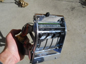 57 DELUXE USED FACE PLATE/BEZEL -VINTAGE-