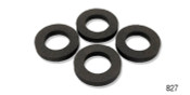 This foam grommet surrounds the door and window handle spring and provides a cushion between the door panel and the door.  Danchuk # 827 will work on any 1955-1957 classic Chevy.  Set of 4.  Made in the USA.