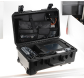 The SOLO-5 Super Kit includes all hardware including accessories packed into a foam-lined Pelican transit case.
