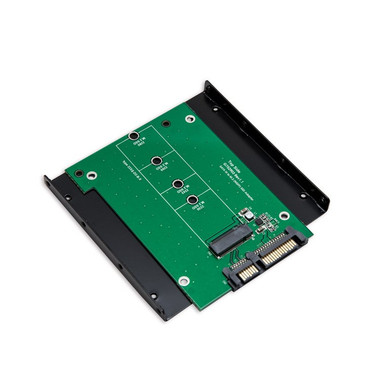"""SATA  III to  M.2 with 3.5"""" Bracket. Compatible with all ICS Duplicators."""