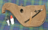 Gannaway Pipe Bag w/ Zippers & Collars