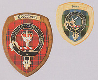 Scottish Family Crest Wall Plaque